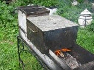 Коптильни для горячего копчения своими руками фото 72